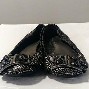 Calvin Klein leather ballerina flats